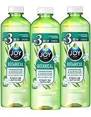 【まとめ買い】 ジョイ ボタニカル 食器用洗剤 レモングラス&ゼラニウム 詰め替え 440mL×3個