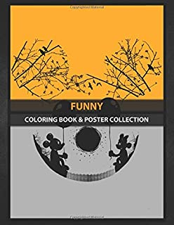 Coloring Book & Poster Collection: Funny Mickey Movies