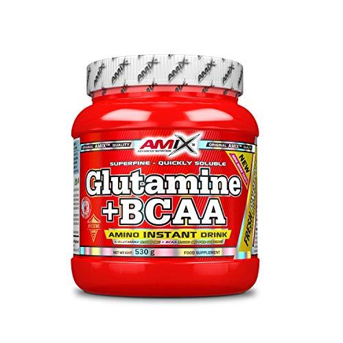 Amix Glutamina+Bcaa 530 Gr Piña 0.53 530 g