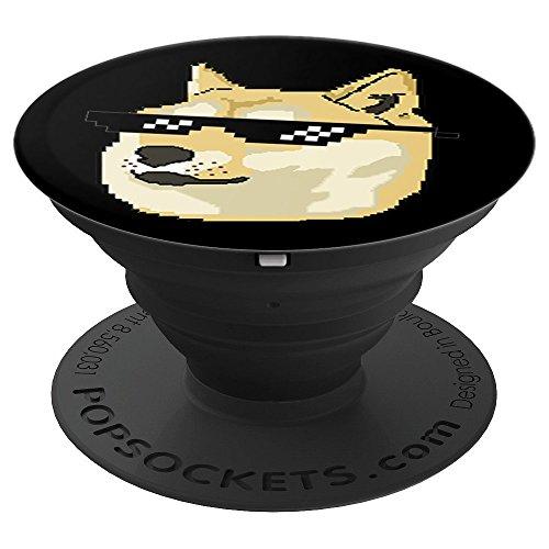 Shiba Inu Doge Cute Dog Meme Deal With It Glasses Cool Pixel