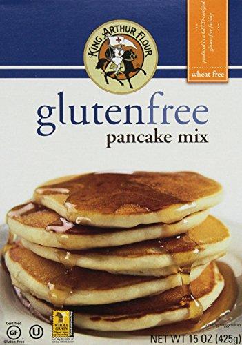 King Arthur Gluten Free Pancake Mix 15oz (Pack of 6)