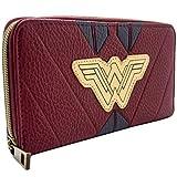 DC Wonder Woman tuta rossa da guerriero Portafoglio