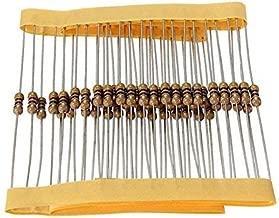 150 Ohm Resistors 1/4 Watt 5% (100 Pieces)