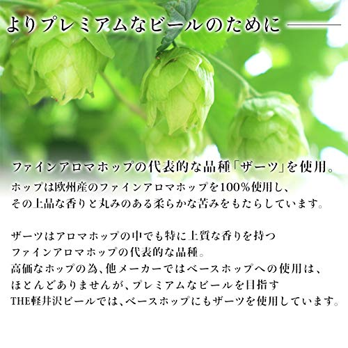 軽井沢ビールお試し軽井沢香りのクラフト柚子6缶セット350ml×6缶N-EB