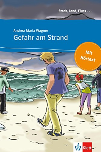 Gefahr am Strand: Buch mit eingebettetem Audio-File A1 (Stadt, Land, Fluss ...)