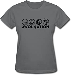FEDNS Women's Awolnation T Shirt
