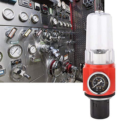 LHQ-HQ. G3 / 4 Luftfilterregler, 0.05-0.85MPa Luftfilter Druckregler, Luftquelle Gas-Druckregel Druckreduzierventil Pneumatische Regelventil mit Manometer