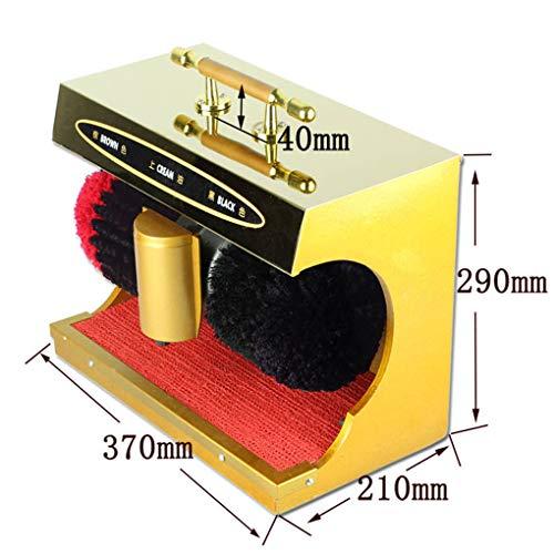 WSWJQY Elektrischer Schuhputzer Automatische Induktion Geräuscharm Spannung 220V Kugelbürste Polieren und Entstauben Superabsorption Geeignet für den Heimgebrauch