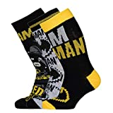LEGO Jungen MW dreier Pack Batman Socken, 995 Black, 31/33