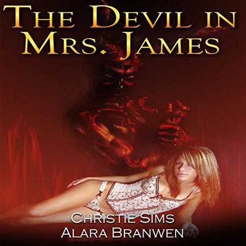The Devil in Mrs. James audiobook cover art