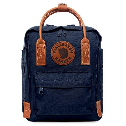 Fjällräven Unisex-Erwachsene Kanken No.2 Mini Rucksack Blau (Navy)