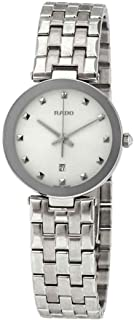 Rado Women's White Dial Metal Band Watch - R48874023