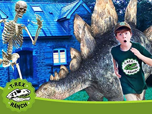 Giant Dinosaurs & Skeleton Escape!
