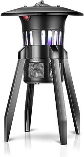 Lámpara eléctrica for Matar Mosquitos, 10W atrae a la luz UV for Matar Insectos, for Uso doméstico, Uso Comercial Cafetería - Montable en Pared, de pie o suspendido en el Techo
