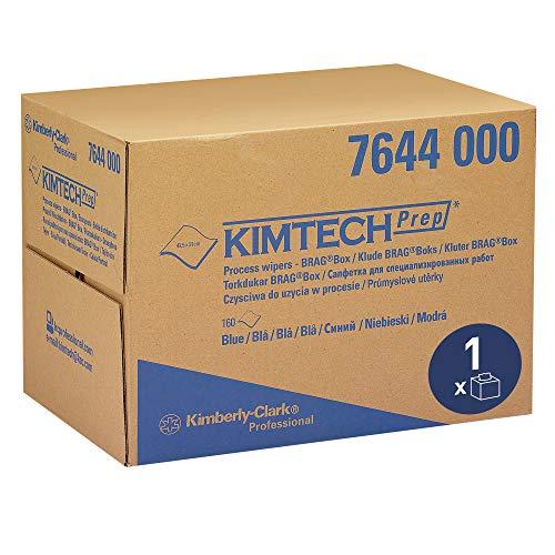 KIMTECH* Paños de Proceso 7644 - 1 caja BRAG* x 160 paños de color azul