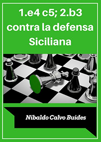 1.e4 c5; 2.b3 contra la defensa Siciliana