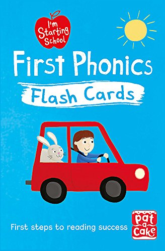 First Phonics Flash Cards: Essential flash cards for all English phonics sounds (I'm Starting School)