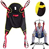 ZIHAOH Ganzkörper- Patientenlifter Sling Treppenrutsche Transfergurt, Für Krankenpflege, ältere Menschen, Behinderte -
