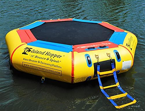 Island Hopper 10' Bounce N Splash Padded Water Bouncer (Water Bouncer Only)