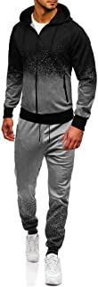 Jogging Tracksuit Sportsuit Sportswear Slim Fit, Hooded Coat Sweat Jacket + Pants Sweatpants