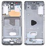 BEIJING ♋ SCREENCOVER+ / para Samsung Galaxy S20 5G's Mid-Frame Bisel, Reemplazo LCD Placa Placa ATRÁS BIELEL (Color : Grey)