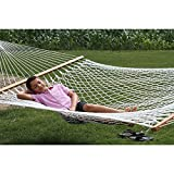 "The Garden Hammocks®4ft(48"") wide x 11ft(132"") overall length, comfortable, sleeping, organic(GOTS) cotton rope"