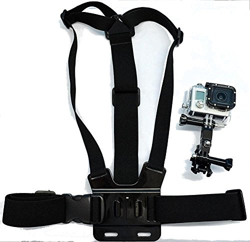 Navitech - Alta qualità Tracolla Il Petto Montare per MGCOOL Explorer PRO 4K Sport Action Camera