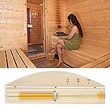 Jeffergarden 15 Minutes Luxury Sand Timer Reloj de Arena para la Sala de Sauna Decoración para el hogar