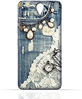Lenovo Vibe S1 TPU Silicone Case with Modern Jeans Pattern