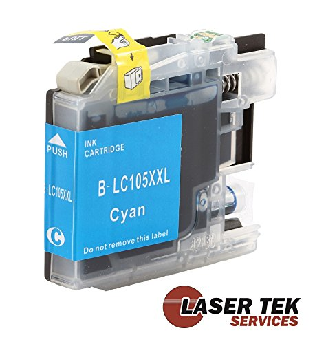 Laser Tek Services High Yield Compatible Ink Cartridge Replacements for Brother LC109BK (Black, 4-Pack) Photo #2
