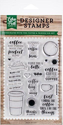 Echo Park Paper Company Kaffee und Friends Stempel