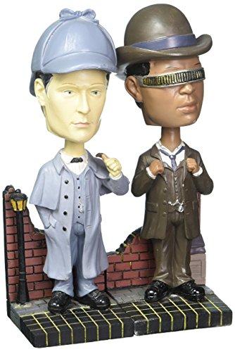 Star Trek TNG Wackelkopf-Figuren Doppelpack Sherlock Holmes Convention Exclusive 18 cm
