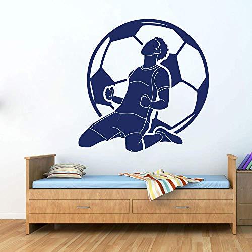 Voetballer Superstar Kobe jongen slaapkamer interieur woonkamer decoratie tiener muur Decal behang 85x85cm