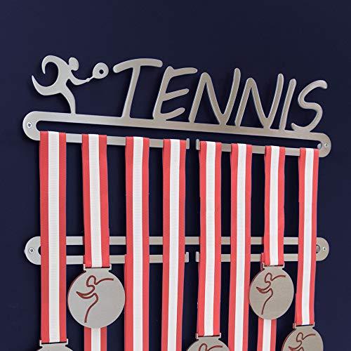 tennis Medal display doppio gancio