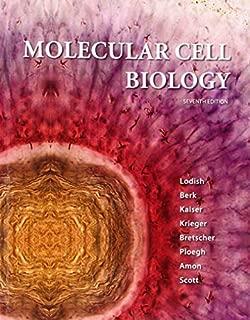 Molecular Cell Biology [Lodish, Molecular Cell Biology] by Lodish, Harvey, Berk, Arnold, Kaiser, Chris A., Krieger, Mon [W. H. Freeman,2012] [Hardcover] Seventh Edition