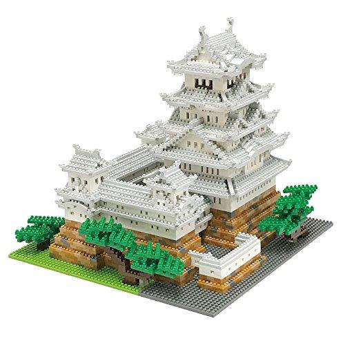 Himeji Castle Block Building Kit
