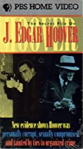 The Secret File on J. Edgar Hoover VHS