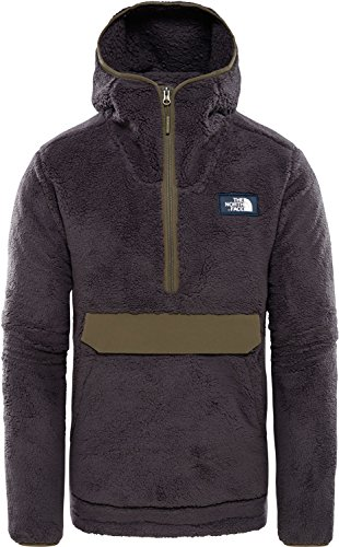 The North Face M Cmpshr Po Hdie Weatheredblck/Newtaupegrn S