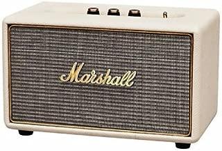 Marshall ACTON マーシャル アクトン Bluetooth ワイヤレススピーカー (Cream) [並行輸入品]