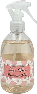 Spray Désodorisant pour tissus et linge Mosco Paris - 250ml - Parfum Lotus Blanc