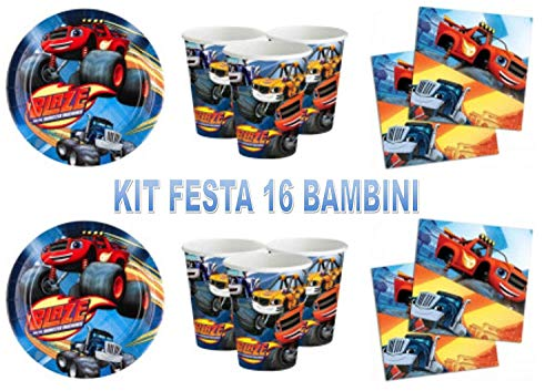 Little Flight Blaze LE MEGA Machines Koordinierte Dekorationen Blaze Theme Party...