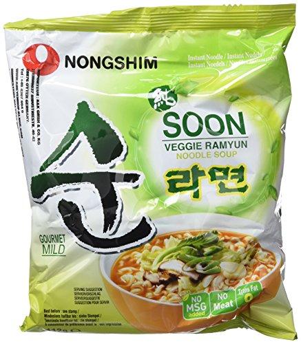 Nongshim Fideos Instantáneos Soon Vegetariano 20x112gr