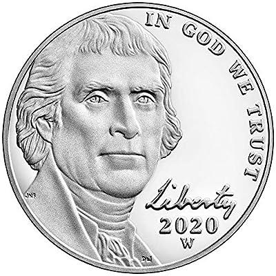 2020 W Special Edition Jefferson Nickel Proof Nickel Mint Packaged