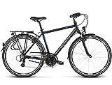 Kross Bicicleta Trans 2.0, Black Blue 28'