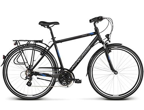 KROSS Fahrrad Trans 2.0, Black Blue 28'