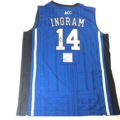 Brandon Ingram Autographed Signed Jersey PSA/DNA Duke Blue Devils Autographed Pelicans