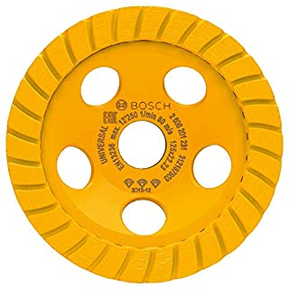Bosch 2608201231 Diamond-Grinding Wheel, 0 V, Yellow, 125 x 22.23 x 5 mm (B00OQC1H0A) | Amazon price tracker / tracking, Amazon price history charts, Amazon price watches, Amazon price drop alerts