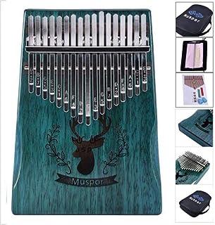 DUn Marteau de R/églage et DInstructions D/Étude Instruments de Musique PanDaDa Kalimba 17 Keys Thumb Piano est /Équip/é DUn Bo/îtier de Protection Haute Performance en Eva