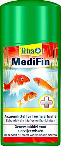 Tetra Pond MediFin (universell wirkendes Arzneimittel für alle Gartenteichfische, Vorbeugung Desinfektion Medikament Garten Krankheiten), 500 ml Flasche