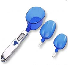 300g/0.1g Portable LCD Digital Kitchen Scale Measuring Spoon Gram Electronic Spoon Weight Volumn Food Scale 3pcs/set